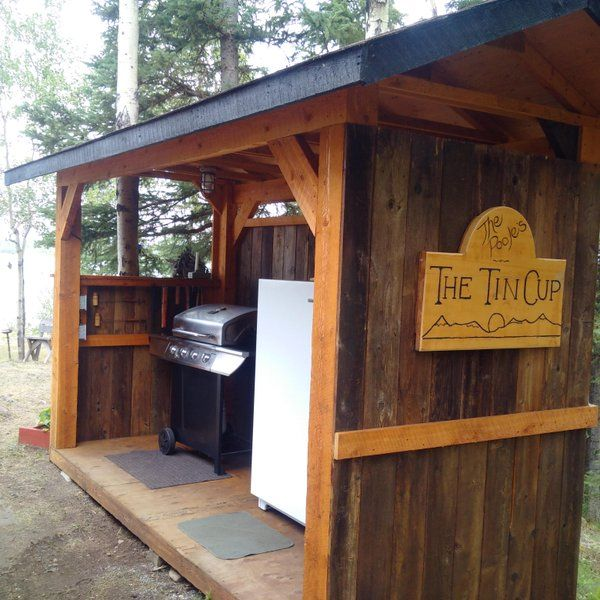 1000+ Ideas About Outdoor Barbeque Area On Pinterest