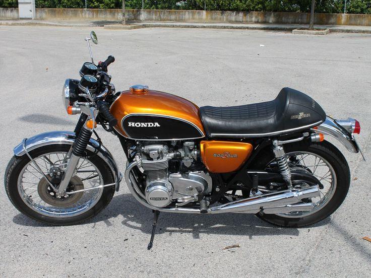 HONDA CB 500 FOUR K1 CAFE RACER, 1973. http://www.straightcafe.com/