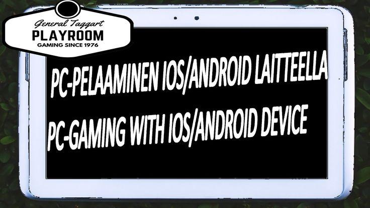 PC-pelaaminen Moonlight sovelluksen ja Android laitteen kanssa