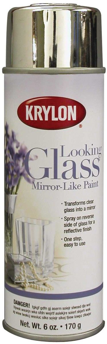 My new best friend!!Looking Glass Aerosol Spray Paint, turn ANYTHING into mercury glass look-alikes. Great for Christmas decorating too!