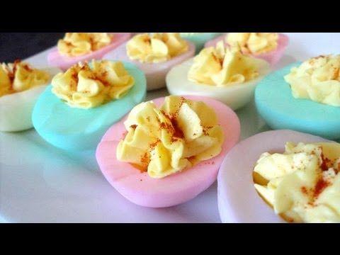 elle plonge un uf dur dans du colorant alimentaire son plat final va vous surprendre - Cupcake Colorant Alimentaire