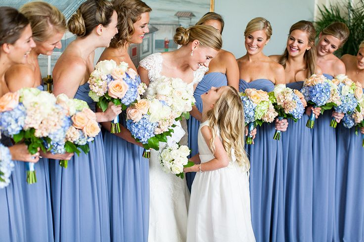 French Blue Bridesmaid Dresses 59