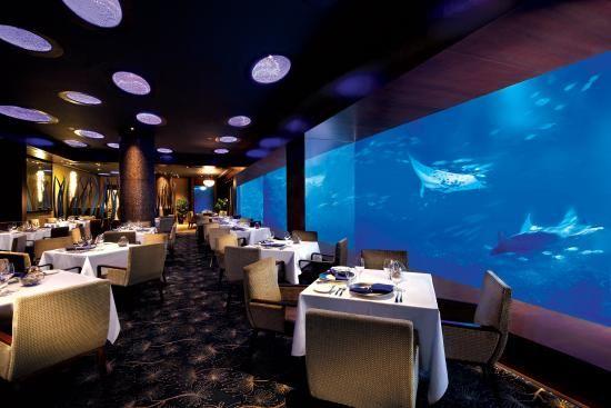 Ocean Restaurant by Chef Cat Cora, S.E.A. Aquarium