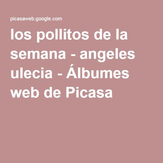 los pollitos de la semana - angeles ulecia - Álbumes web de Picasa