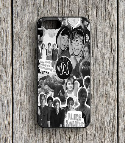 5 Second Of Summer Collage 5 SOS Art Music iPhone 5 | 5S Case