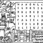 Free word search from Melonheadz Illustrating for Hallween!  =)