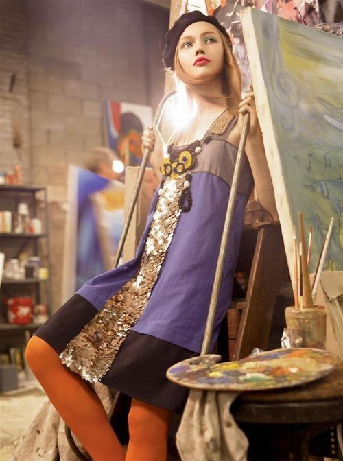 Sasha Pivovarova, Snejana Onopka, Caroline Trentini Lily Donaldson by Steven Meisel for Vogue US