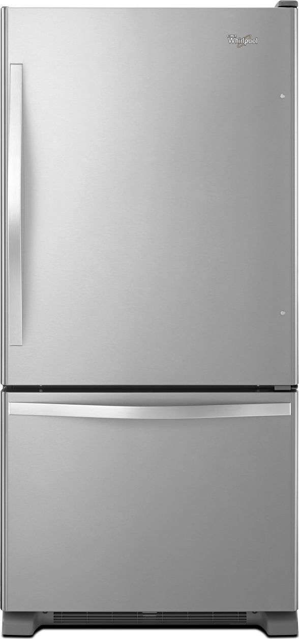 Lowest price on Whirlpool WRB322DMBM 21.9 Cu. Ft. Stainless Steel Bottom Freezer Refrigerator - Energy Star. Shop today!