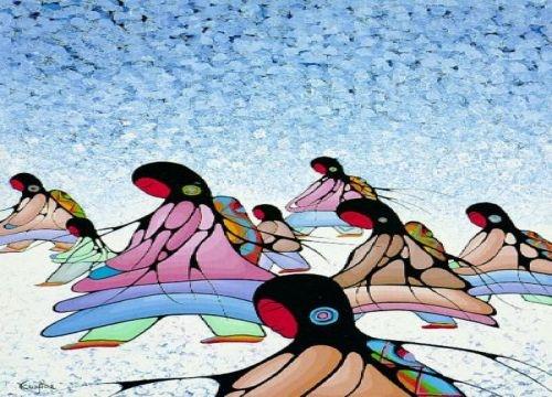 Cecil Youngfox, Ojibwe and Métis