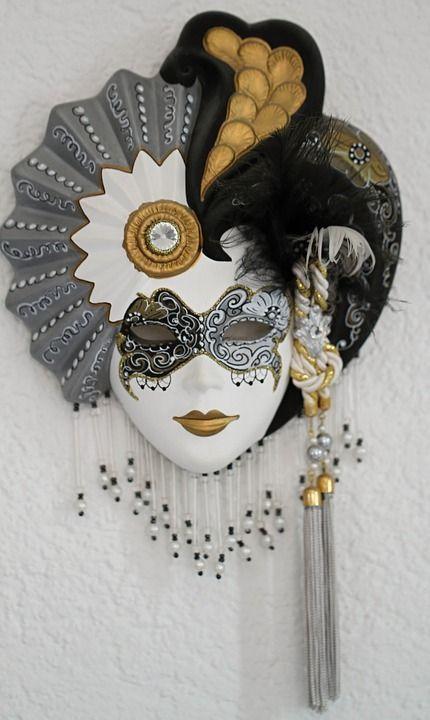 Free Image on Pixabay – Venetian, Masks, Italy, Venezia