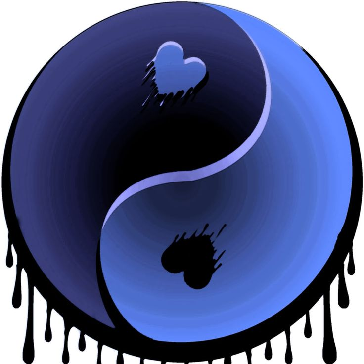 Heart Yin and Yang - re-pinned from ᎯʊᎴℛᏋᎩ ♡ ᎵᎯℛᎥᏕ