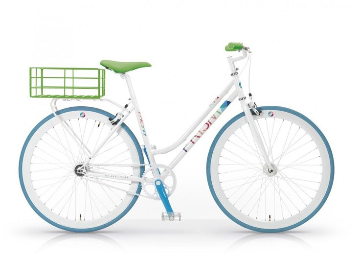 "28"" Zoll MBM Minimal Prisma Fixed Gear Fahrrad Damen Fixie Bike Cityrad"