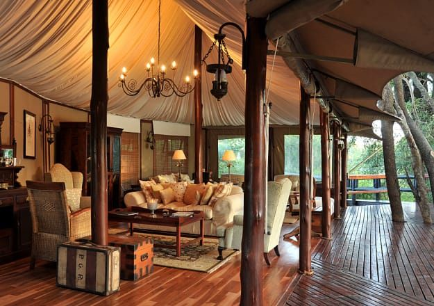 Hamiltons Tented Safari Camp in the Kruger National Park  does glamping at it's best!