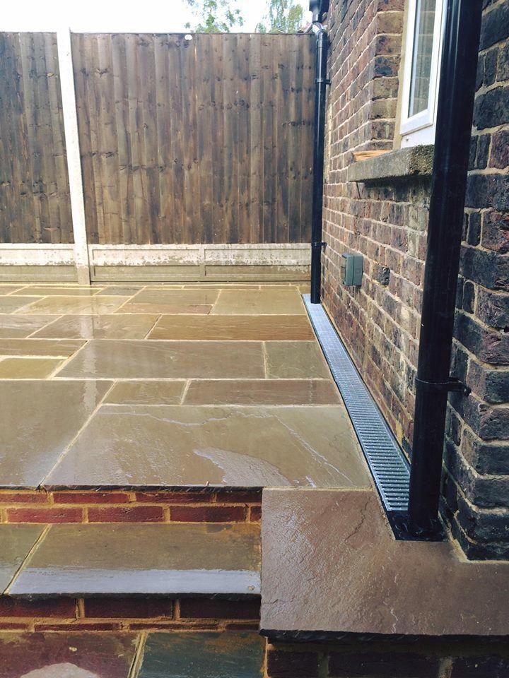 Indian Sandstone Patio Steps