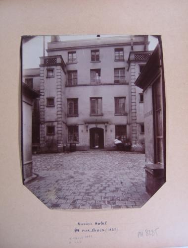 Ancien hôtel, 94 rue Broca, 13ème arrondissement, Paris | Paris Musées