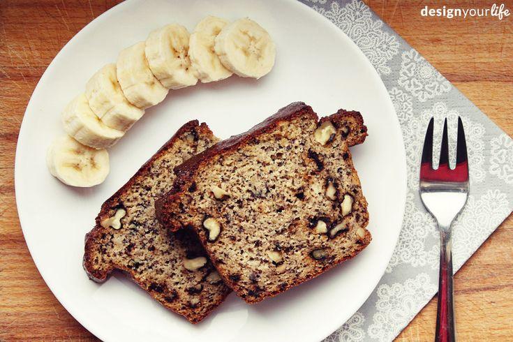 Przepis na chleb bananowy – bez mąki i bez cukru