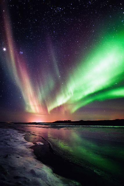 Northern lights - Iceland  by Kj Photography ツ http://kristinjons.com