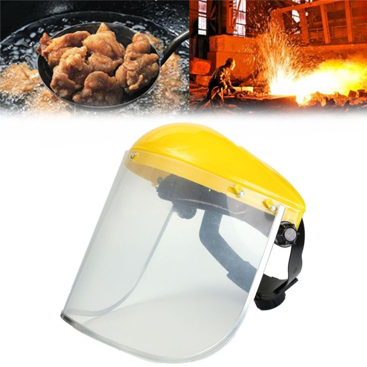 New Arrival Adjustable Clear Face Mask Shield Visor Safety Workwear Eye Protection Gardening