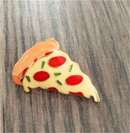 Бесплатная доставка пользовательский стиль мода милая девушка брошь оригинальный симпатичный версия требуется гамбургер пицца хот дог серии брошь купить на AliExpress
