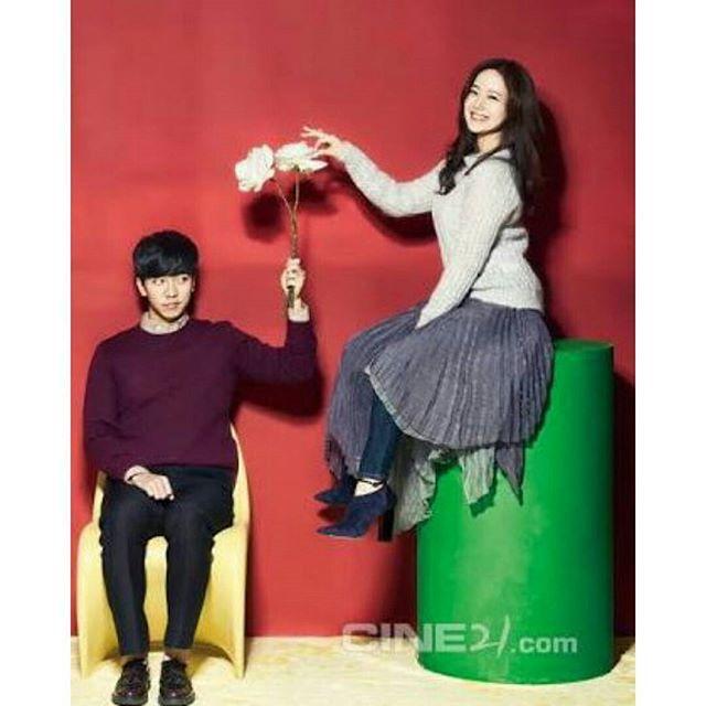 Moon chae won + lee seung gi #moonchaewon #leeseunggi #todayslove
