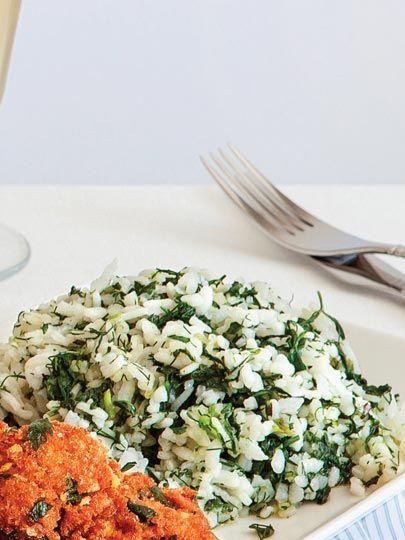Yeşil pilav Tarifi - Türk Mutfağı Yemekleri - Yemek Tarifleri