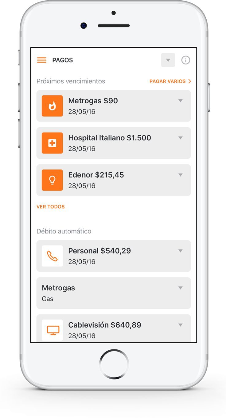 Galicia's Online Banking Mobile Preview