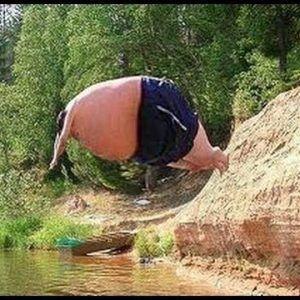 Funny People Falling