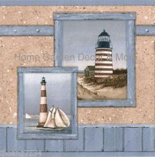 Blue PAINTERLY LIGHTHOUSE Nautical Wall paper Border: Lighthouses Nautical, Painters Lighthouses, Wall Paper, Paper Border, Border Bordersunlimit, Bath Border, Nautical Wall, Nautical Nonsen, Blue Painters