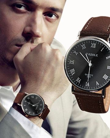 man-watch-quartz-brown-manly-sport-business