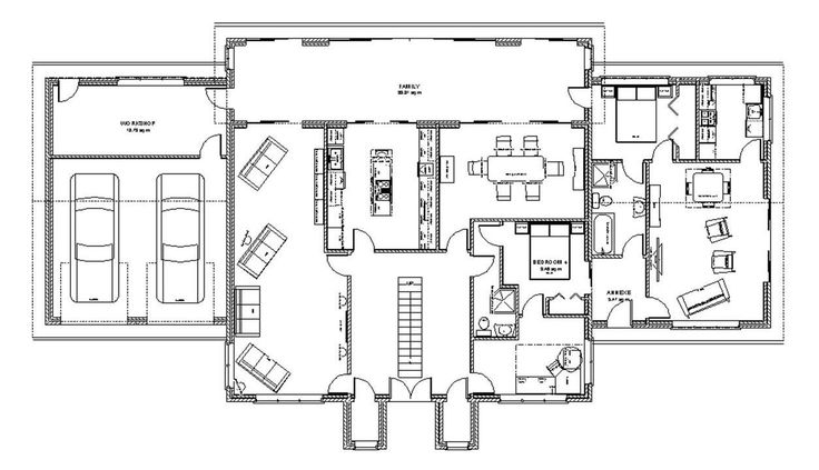 Tropical Home Design Ground Floor Plan