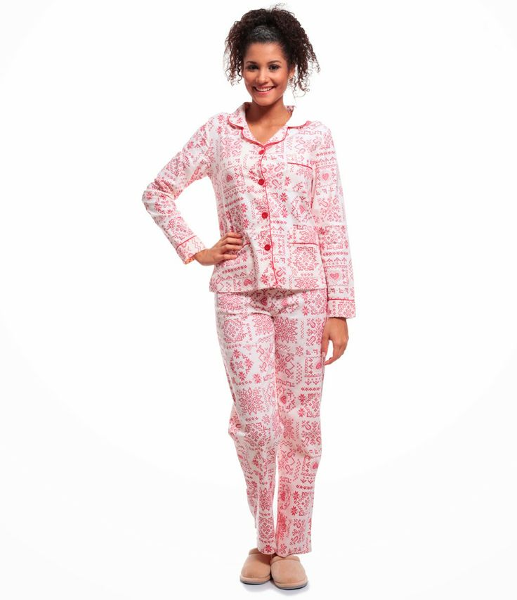Portal do Ponto Cruz: Pijama de ponto cruz das lojas Renner