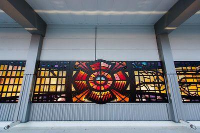 Check out this great public art article by 9 NEWS http://www.9news.com/news/local/new-artwork-at-dia-fire-station/452217706? #DENart #ChristineLambert  #Denver #SteveGardner, #colorado, #publicart, #publicartcollective, #streetart