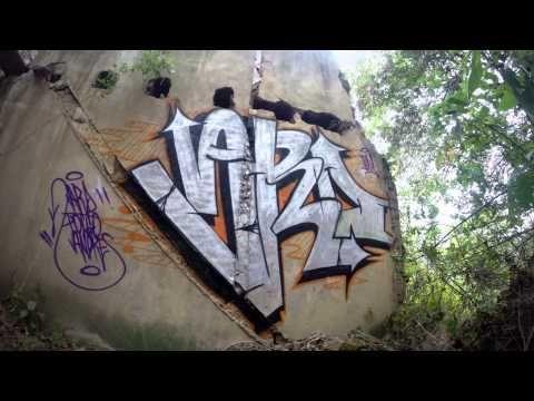 Timelapse graffiti.