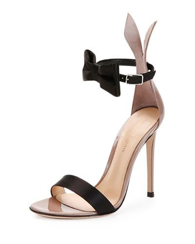 Because who doesn't love a bow tie bunny in the form of the chicest sandal?