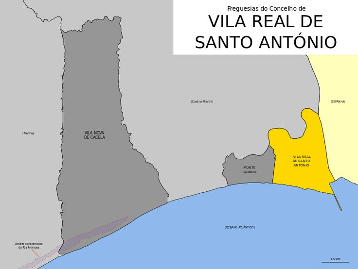 Freguesias do concelho de Vila Real de Santo António