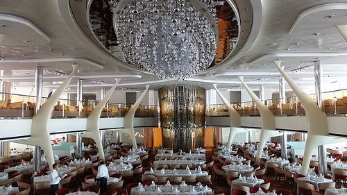 Celebrity Cruise; Celebrity Silhouette -Grand Cuvée Dining room-