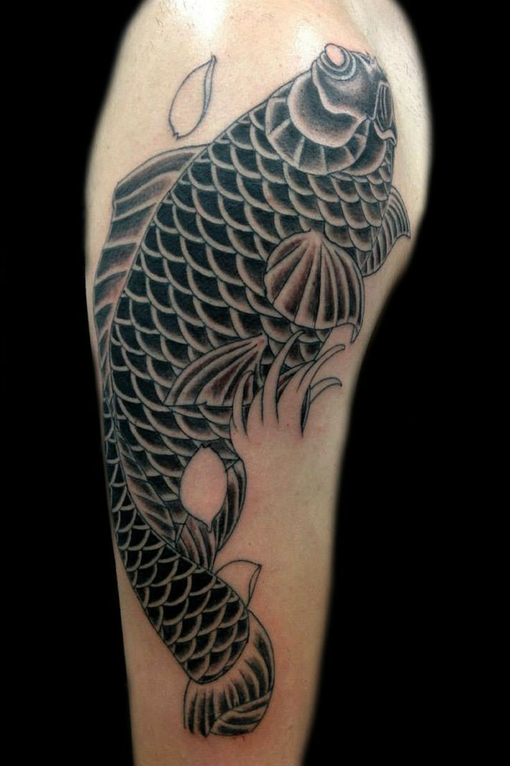 Japanese tattoo by George @truelovetattooathens#japanesetattoo#japanesetattoogreece#koifish#koi