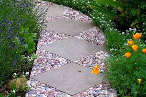 красивые дорожки из тротуарной плитки