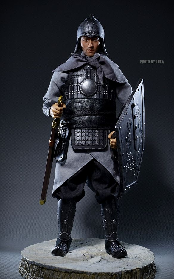Ancient Chinese soldier