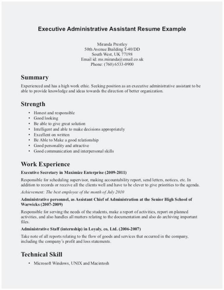 Resume Template Medical assistant New 25 Concept Medical