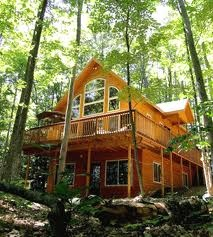 my dream home.  in the middle of the woods.