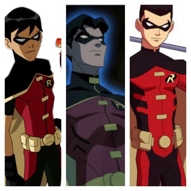 All the Robins in Young Justice Dick Grayson, Jason Todd ...