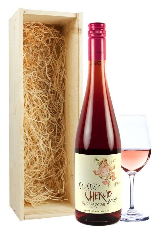 Para este día te recomendamos #MontesCherubRosé es un vino elegante, seco, de gran concentración frutal, muy fresco y de buen balance. #LaCafetiereDeAnita