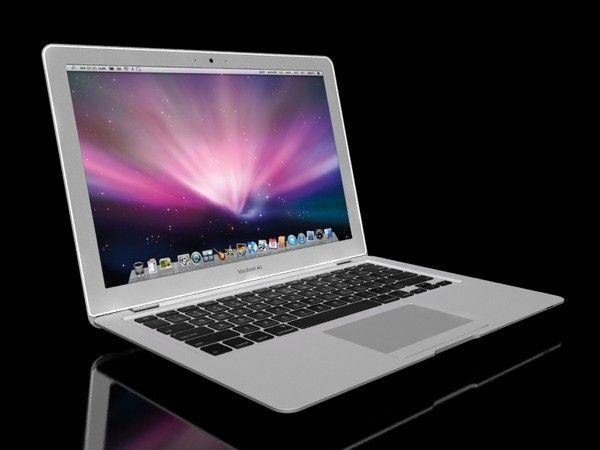 3d model apple macbook air - Apple MacBook Air... by treefortkid