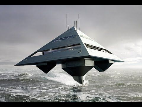 Tetrahedron Superyacht - The Luxurious Superyacht That Looks Like an Ali...