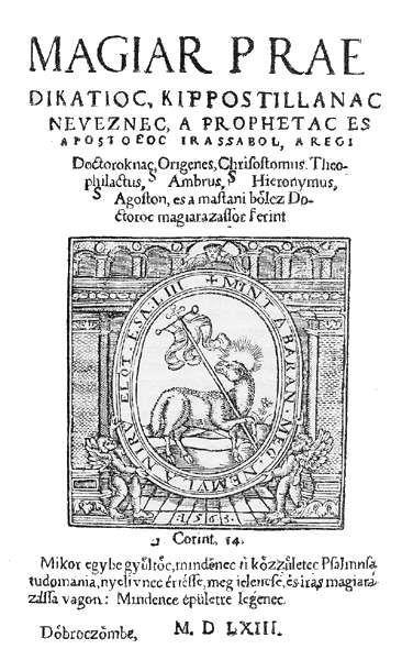 Méliusz Juhász Péter – Herbárium, 16. szd