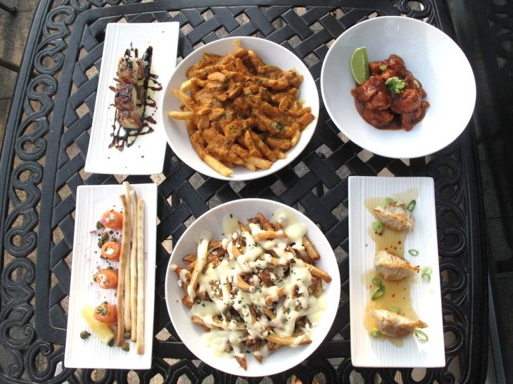 A few faves being served on our Roof Lounge Patio