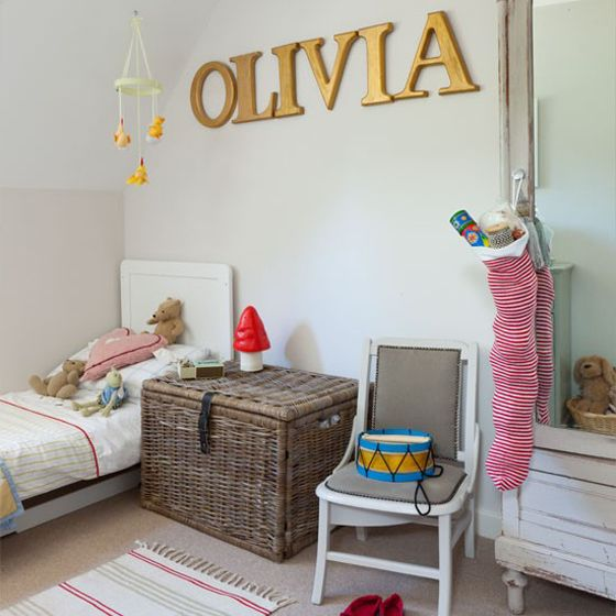 Girly Vintage Bedroom Ideas: Baby Girls, Girls And Name Art