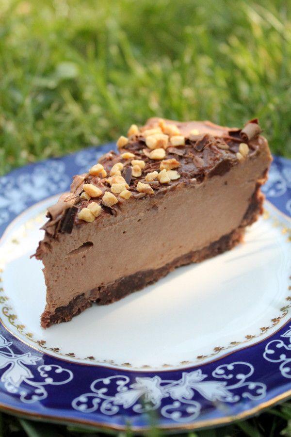 Sütés nélküli csokitorta