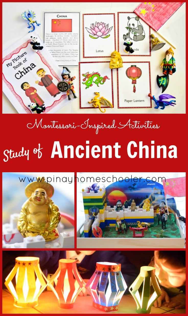 Lots of activities for learning about Ancient China